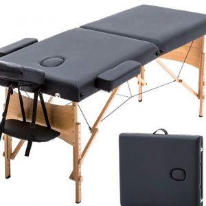 Camilla para masaje plegable de madera