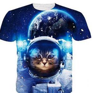 Camiseta personalizada de mujer 3D