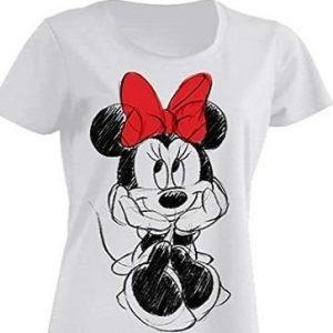 Camiseta personalizada de mujer Minnie Mouse