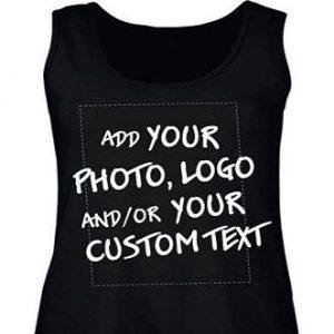 Camiseta personalizada de mujer sin mangas