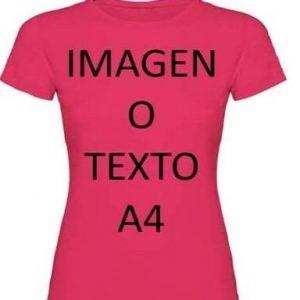 Camiseta personalizada de mujer Yisama