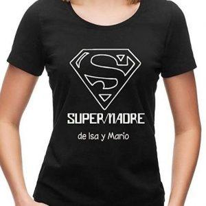 Camiseta personalizada de Supermadre