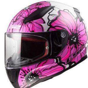 Casco de moto de mujer LS2