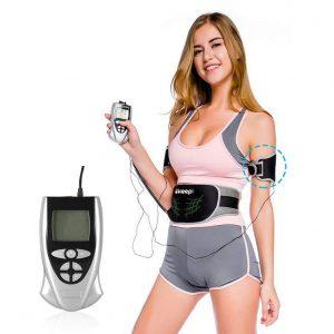 Electroestimulador abdominal con pantalla LCD