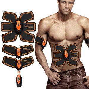 Electroestimulador abdominal eléctrico