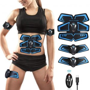 Electroestimulador abdominal para ganar músculo