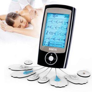 Electroestimulador muscular con pantalla LCD