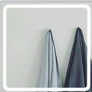 Espejo de baño con luz Aplike