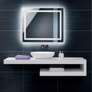 Espejo de baño con luz Foram