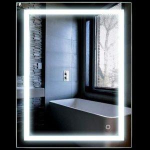 Espejo de baño con luz táctil