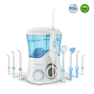 Irrigador dental con 8 boquillas
