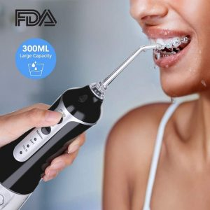 Irrigador dental recargable