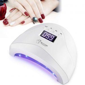 Lámpara led uñas con diseño avanzado
