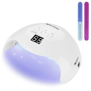 Lámpara led uñas con sensor automático