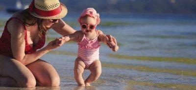 Protectores solares para bebés