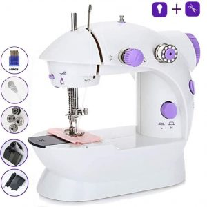 Máquina de coser barata portátil