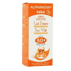 Protector solar de cara para bebés