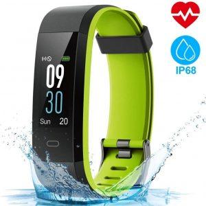 Pulsera de actividad con monitor de calorías