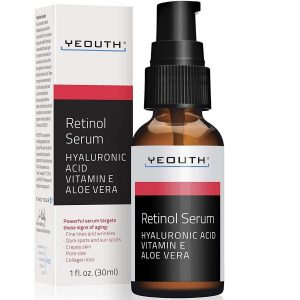 Serum facial con retinol
