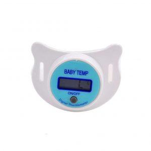 Termómetro bebé con pantalla LCD